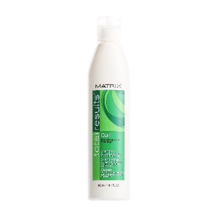 Matrix Total Results Curl Shampoo 300ml 0055738 Matrix Total Results Curl Shampoo gently cleanses and nourishes curly and wavy hair. Featuring Matrixs exclusive Anti-Frizz Nutri Curl Technology, Total Results Curl Shampoo helps to control and tame  http://www.MightGet.com/may-2017-1/matrix-total-results-curl-shampoo-300ml-0055738.asp