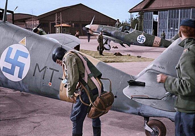 Messerschmitt Bf 109G, Finnish Air Force