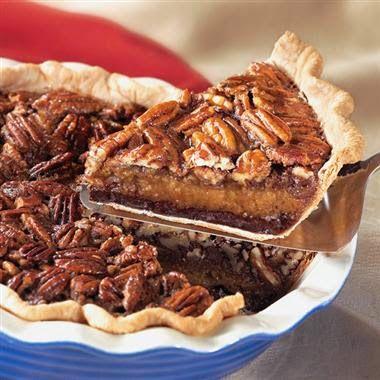 Decadent Chocolate Pecan Pie Recipe & MORE for National CHOCOLATE Pecan Pie Day