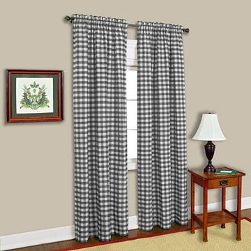 Gingham Curtain Panel - Achim