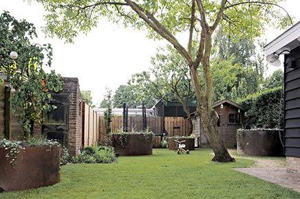 Kindvriendelijke tuin idee n vanuit zevenbergen inrichting kids garden pinterest - Landscaping modern huis ...