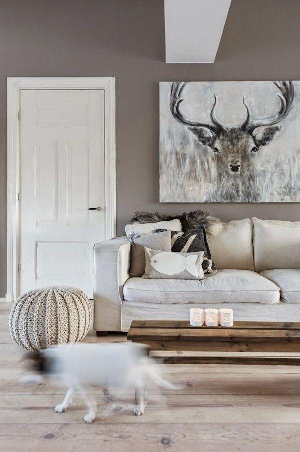 Scandinavian Mindset Nordic Interiors Deer Living