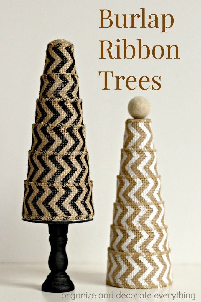8 Burlap Ribbon Ideas Perfect For The Holidays