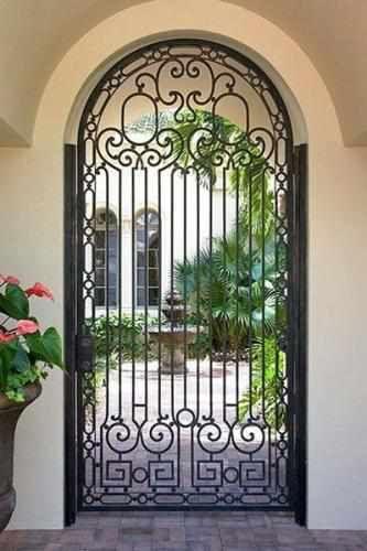 Francia-74 - Wrought Iron Doors, Windows, Gates, & Railings from Cantera Doors