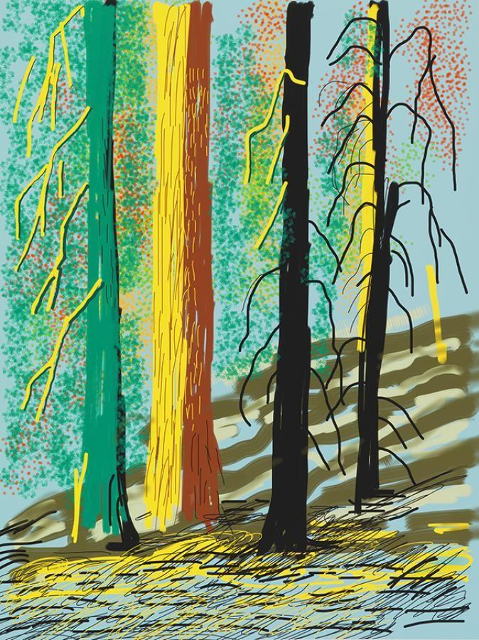 1018 best images about david hockney on pinterest fine for David hockney painting
