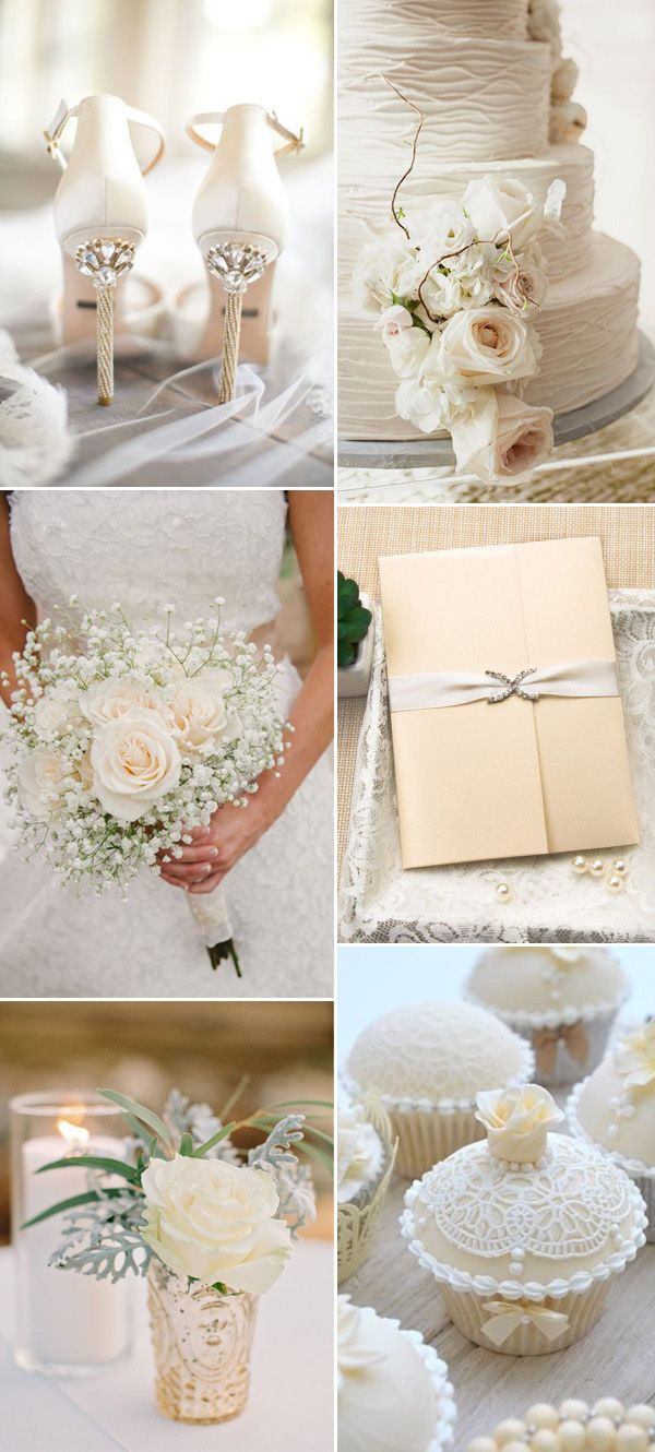 194 best Wedding Color Schemes & Themes images on Pinterest ...