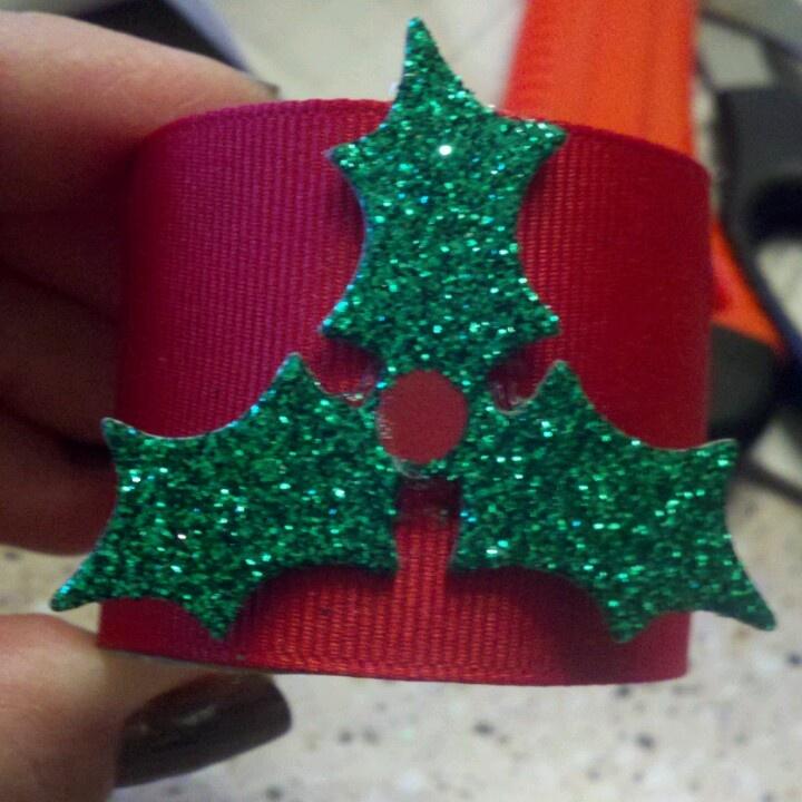 25 B Sta Id Erna Om Christmas Napkin Rings P Pinterest