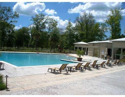 Resort style pools homes