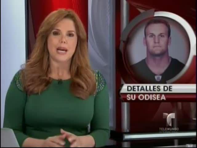 Jugador De Futbol Americano Nadó 16 Horas Para Llegar A La Costa Después De Haber Caído De Su Bote #Video