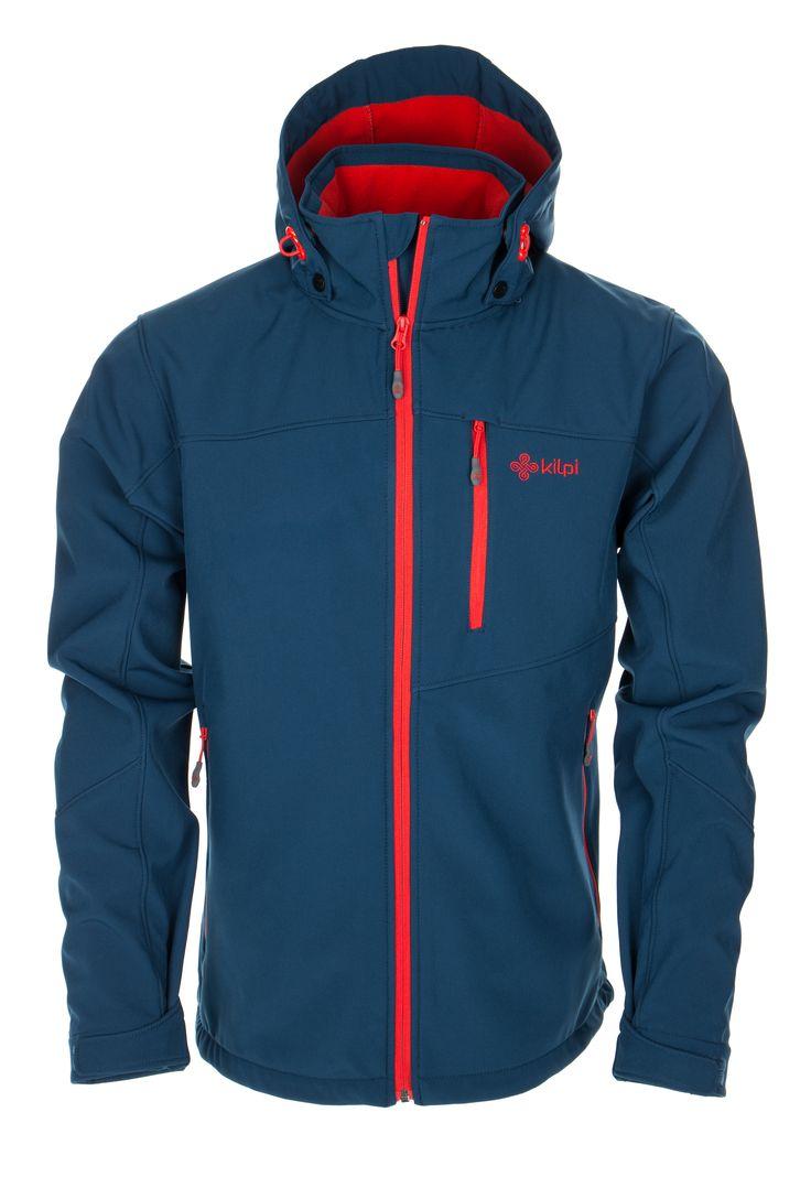 Men's softshell jacket KILPI - ELIO - dark blue