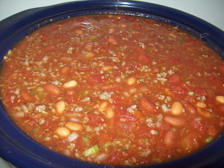 Just Like Wendy S Chili Roaster Oven Recipes Wendys Chili Cooking For A Crowd