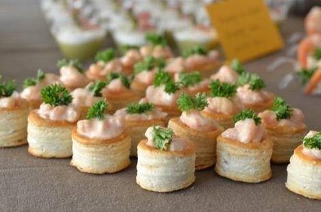 Recette - Vol-au-vent miniatures aux fruits de mer