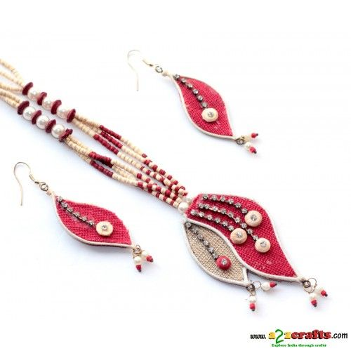 Jute & Paddy Jewelry http://www.a2zcrafts.com/index.php?route=product/product&path=64_68&product_id=674 … #jutejewellery