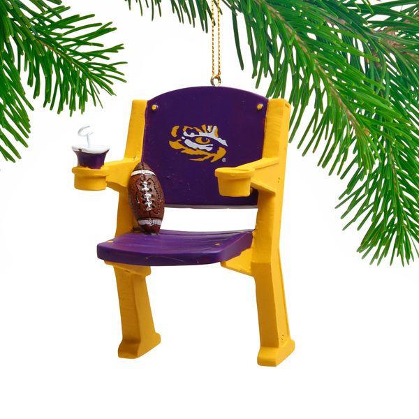LSU Tigers Stadium Chair Ornament - $11.99