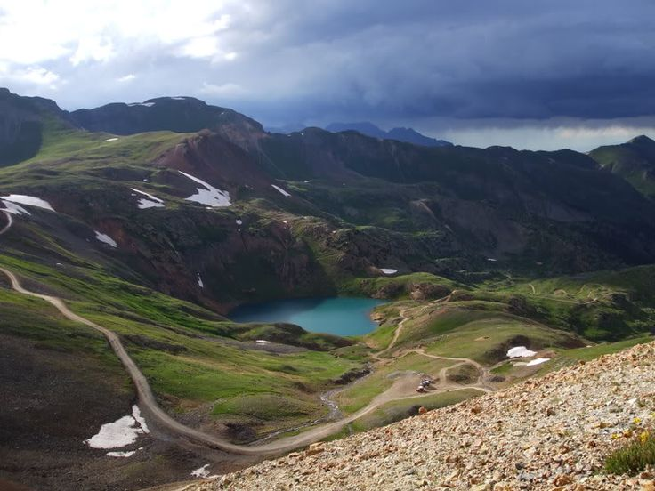 Jeeping on Engineer Pass Colorado - the majesty of nature