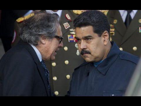 La OEA, y la situación en Venezuela; carta democratica