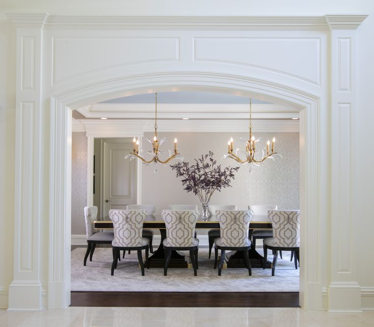 218 best dining rooms images on pinterest dining room for Best transitional dining rooms