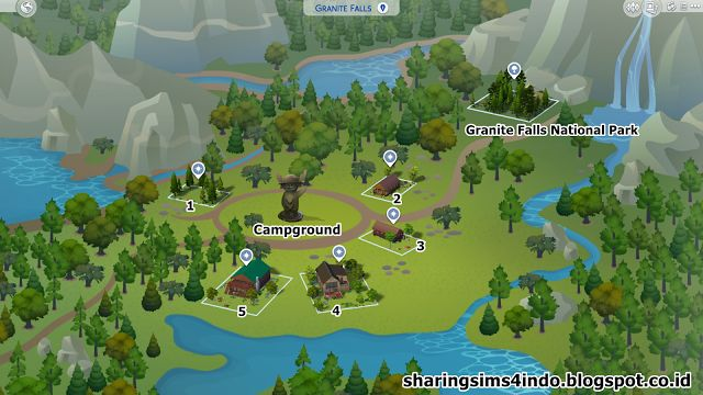 Granite Falls Neighborhood #sims4 #world