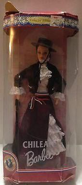 (TAS009569) - Mattel Barbie Collectors Doll - Chilean