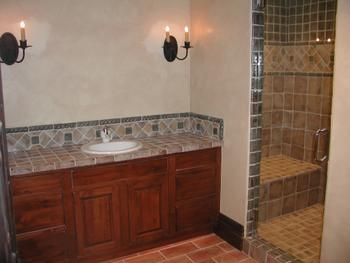 bathroom design denver area tile terrazzo colorado design