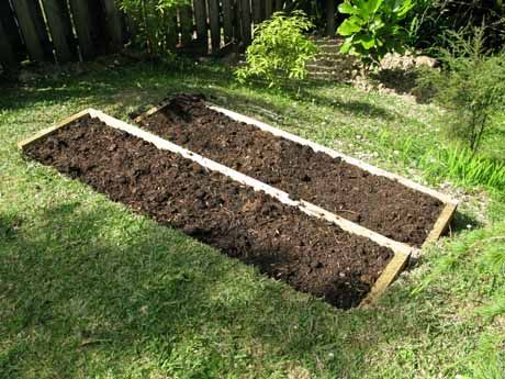 DIY terrace garden bed. While it's possible to plant on slopes without using raised beds, water run-off means the soil and plants dry out quickly. Terrace garden beds are the perfect solution and it means flowers and vegetables can be grown in a space that might otherwise be wasted.