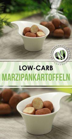 Die Marzipankartoffeln sind low-carb, einfach und super lecker.