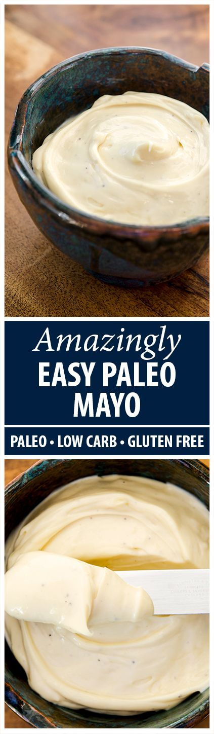 You've never seen a recipe like this for homemade mayo. Ready in under 2 minutes with no fuss!