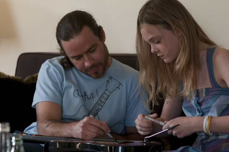 """Somewhere"" (2010) Chris Pontius and Elle Fanning."