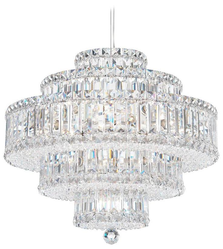 Schonbek Plaza Collection 22-Light Crystal Chandelier -