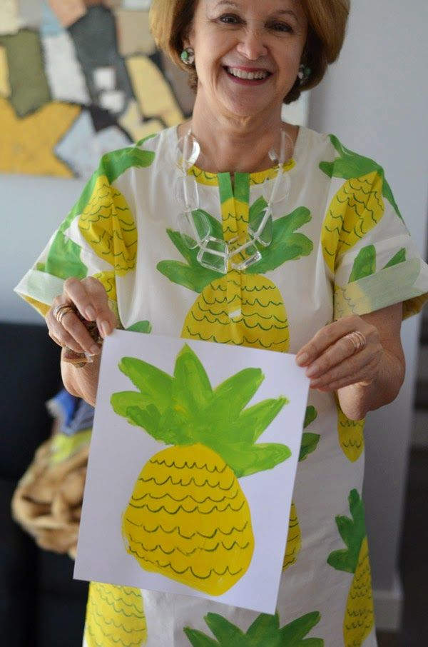 Mimosa Lane: DIY || Turn your kid's art into fabric