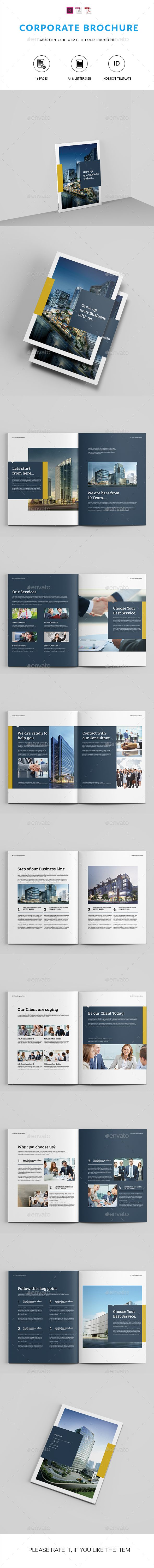 Company Brochure Template InDesign INDD. Download here: http://graphicriver.net/item/company-brochure-indesign-template/16071619?ref=ksioks