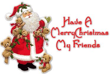 Friends Santa Claus Bears Merry Christmas Emoticon Emoticons Animated Animation Animations Gif Photo:  This Photo was uploaded by prestonjjrtr. Find othe...