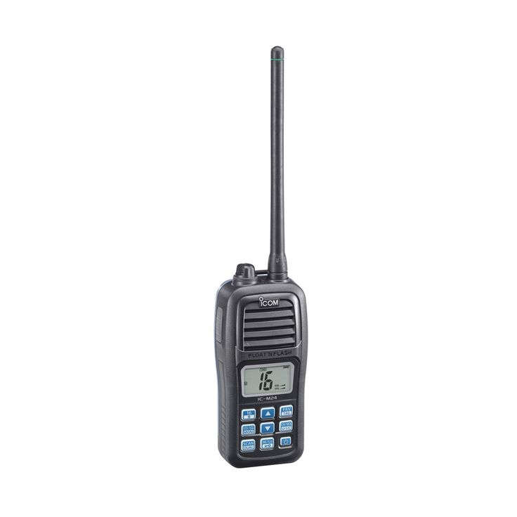 Icom Marine Boat Navigation Floating M24 Handheld VHF Radio ** Details can be found by clicking on the image.