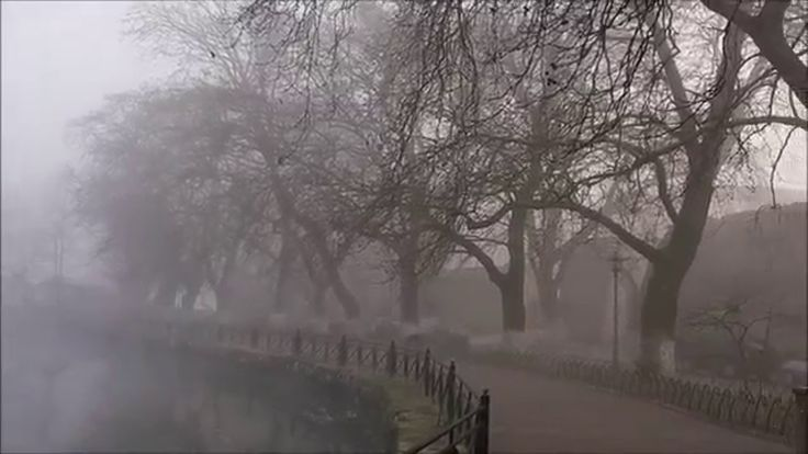 London mist at Ioannina, Greece
