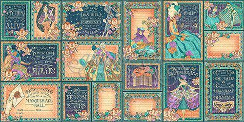 Midnight Masquerade Ephemera Cards