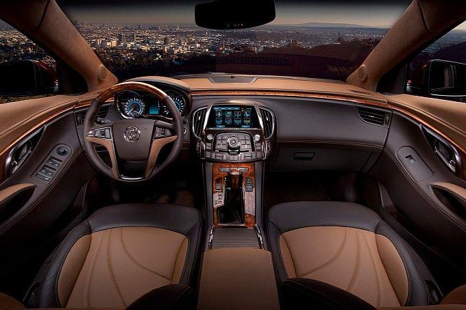 Luxury 2017 Lacrosse Interior