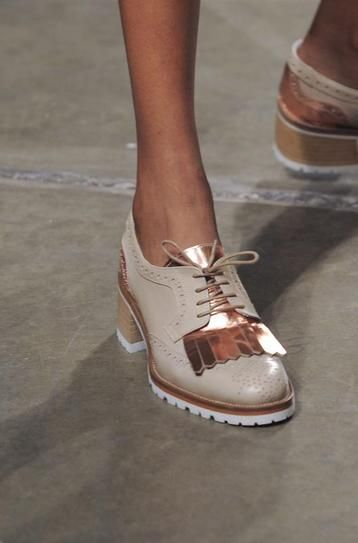 Beau Coops x Karen Walker tassel Loafers on the runway at #nyfw. Available September 2015. | www.beaucoops.com