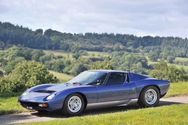 Awesome Car For Sale: Rod Stewart's Old 1971 Lamborghini Miura P400 SV - Airows