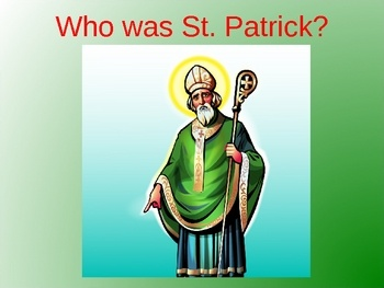 Why is St. Patrick's Day celebrated in so many countries? Who was St. Patrick? What is the history behind St. Patrick's Day? How do people celebrate St. Patrick's Day today? What are some of the symbols of St.Patrick's Day and where did they come from? These questions are answered in this 31 slide PowerPoint presentation.