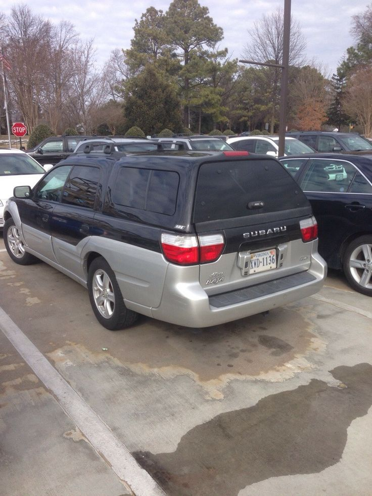 Cool Subaru Baja...why are there not more of these?