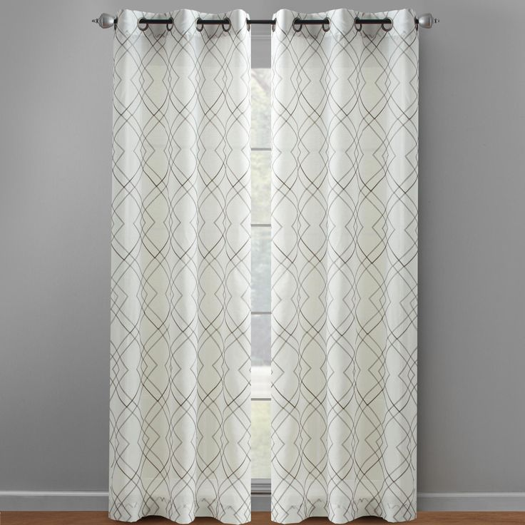 Understated elegance exudes from our grommet top curtains  With an abstract geometric design  these. 1000  images about Curtains  Rugs  amp  Pillows on Pinterest