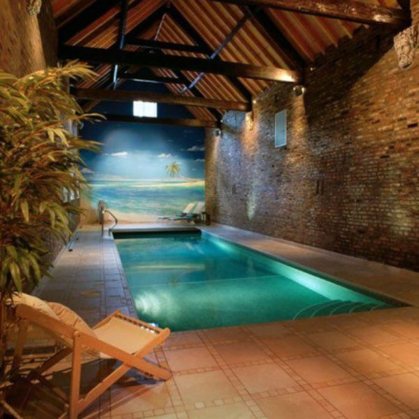 Wonderful 65 Luxury Small Indoor Pool Design Ideas On Budget (30