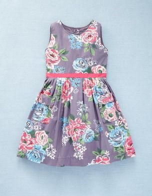 my daughter had a cotton dress similar to this pattern for her first Easter in 1993, was adorable with her little bonnet