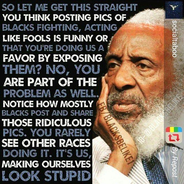 Black people behavior