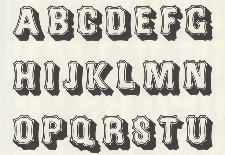 80+ Free Wood Type Alphabets