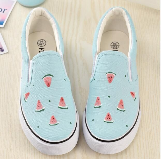Cheap muscle, Buy Quality muscle woman Directly from China Suppliers:2017 Spring Pretty Foot Wrapping Women's Canvas Shoes Personalized Hand-Painted Shoes Low Graffiti Shoes Comfortable Cow Muscle