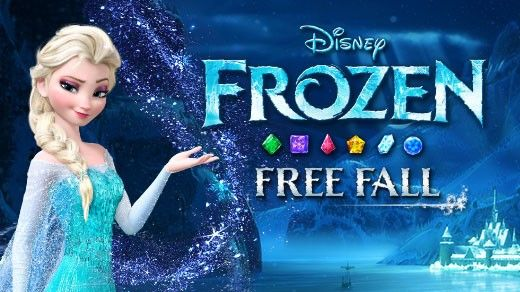 Frozen Free Fall Game for Free on Android, iOS and Windows 8