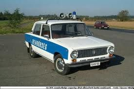 Zsiguli - rendőrautó (Lada 1200)