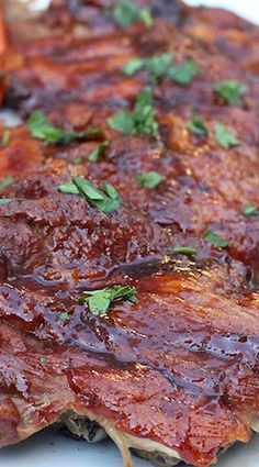 """""""BBQ"""" Baby Back Ribs in the Instant Pot"""