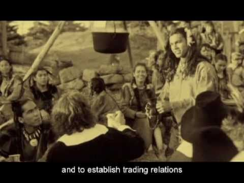 ▶ The American Thanksgiving Story (English subtitles) - YouTube